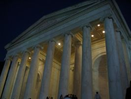 The Jefferson Memorial by 4ever-rider