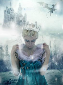 Snow-queen by Chirstina