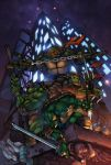TMNT Pin up by zaratus