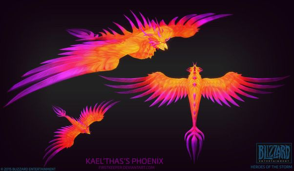 Kael'thas Phoenix by FirstKeeper