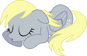 Sleeping Derpy by Fercho262