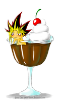 Yami In A Pudding by Yami-No-Spirit-luver