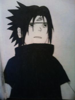 Sasuke Young by Ryu-7