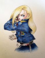 General Olivier Mira Armstrong by SilkSpectreII