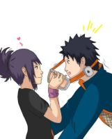 Obito x Anko - You finally showed up, huh? by Honest-Criminal