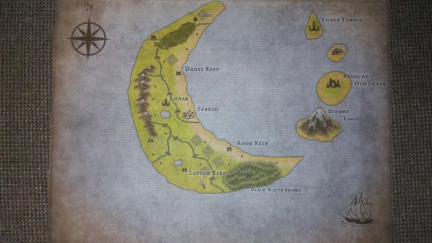 Crescent Isles Map by paladin4hire