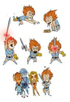 """Little"" Lion-O by darrenrawlings"
