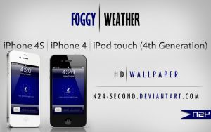 Foggy Weather for iPhone4 by n24-second
