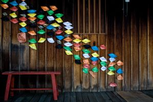 Paper Boats by Uebersee