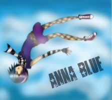 Anna Blue by E13MilitaryDog