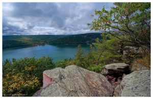 East Bluff View by leavenotrase
