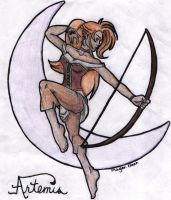 artemis in color by erisa by erisa