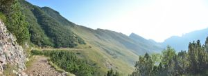 Panoramic view of passo by albyper84