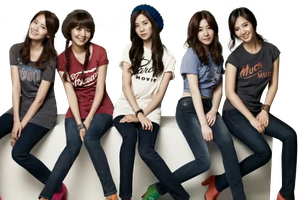 [28.9.2013] SNSD RENDER #1 by CatbeYOLO