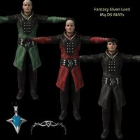 DS MATs for X3D Elven Lord M4 by AdamTLS