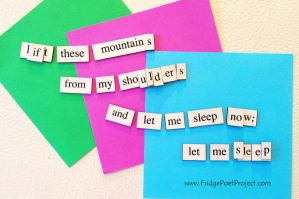 The Daily Magnet #164 by FridgePoetProject