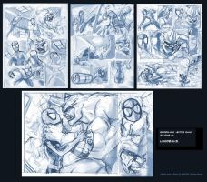 Spidey Roughs by Likodemus