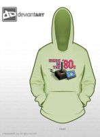 'Made in the '80s' Hoodie Design by DonVercotti