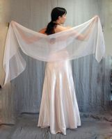 Ivory Gown 1 by LongStock