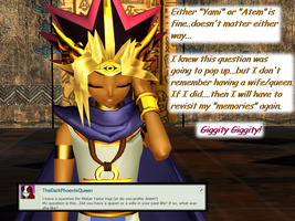 Question 1300 ~Wife of the Pharoah~ by AskMMDYugi