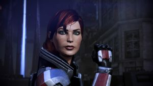 Lieutenant Commander Shepard 02 by johntesh