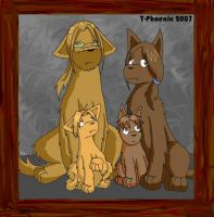 Elric Dogs - Family Photo by Heliotrope-Housecat