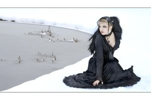 Gothic im Schnee by Nightshadow-PhotoArt