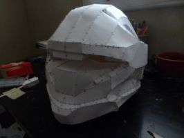 Halo 3 Recon Helmet WIP 4 by W4RH0US3