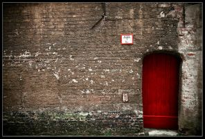 The red door. by feudal89