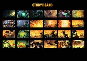 Story Board by xenocry