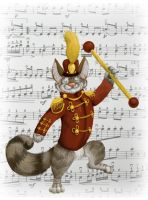 The Music Man... Er, Cat by milleniumocarina