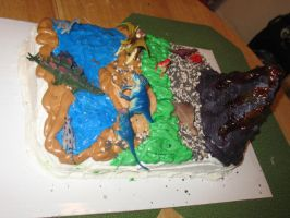 Dinosaur cake picture one by Alielove19