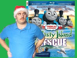 Thomascember Misty Island Rescue Title Card by Dalek44