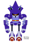 Mecha Sonic Frontal by Mortdres