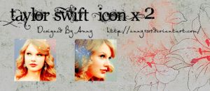 TaylorSwift2icons by anny1209