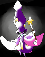 Fakemon -- 000 Magiqueen by IceTrainer