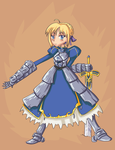 Saber by REDexclamation