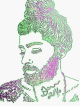 Zayn in pen by IDoomLuvsMJ