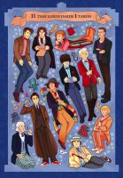 doctor who 50th anniversary by audreymolinatti