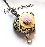 Pocket Watch Steampunk Heart by Hyo-pon