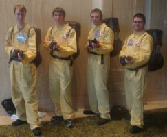 Cosplay Check:Ghost Busters by Rhythm-Wily