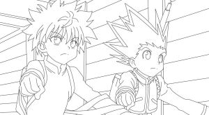 :Killua34 LineArt: by xxDaisuki-Koixx