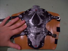 Assassin's Creed - Ezio - WIP - Vambrace by shmad380