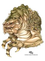 Rancor by Sweatybuffalo