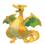 Charizard by sweating