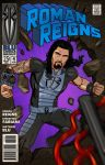roman reigns by midknight01