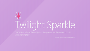 Twilight Sparkle | Windows 8 by impala99