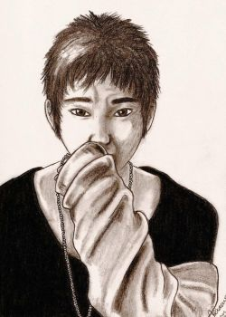 Kangin from Super Junior by johal91