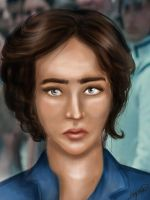 Before - Katniss Reaping by TheSearchingEyes