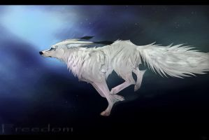 .: Freedom :. SPEEDPAINTING by Kasamm